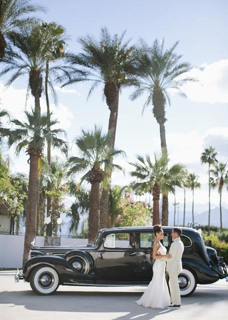 5 coche boda antiguo negro