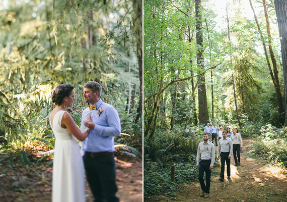 7 ceremonia entre pinos boda bosque