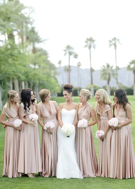 7 fotos damas de honor novia boda