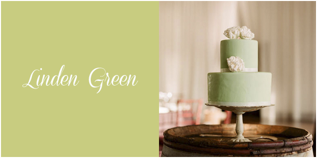 Colores boda otoño 2013 linden green