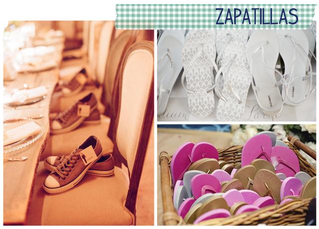 regalos invitados boda zapatillas