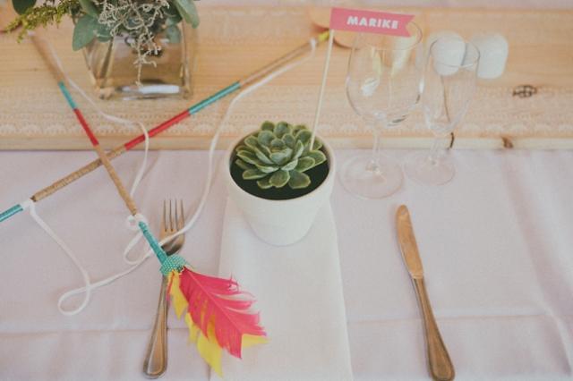 10 flechas en la boda decoracion
