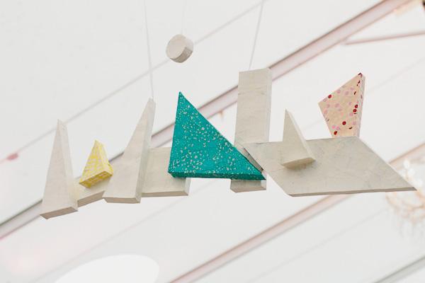 2 decoracion bodas formas geométricas