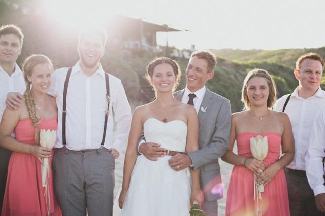 4 fotos boda aire libre playa