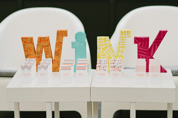 5 decoracion bodas formas geométricas