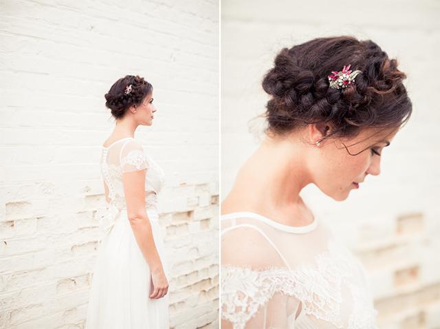 17 novia peinado corona trenza boda