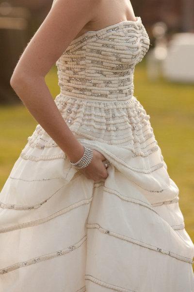 2 boda rustica vestido de novia detalle