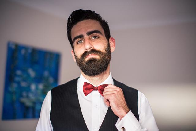5 novio barba boda