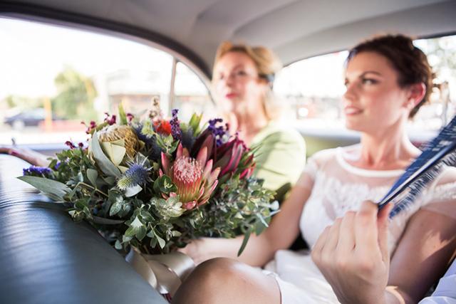 7 foto novia boda coche