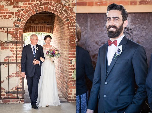 8 entrada novia ceremonia boda