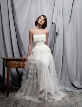 5 Vestidos de novia Santos Costura