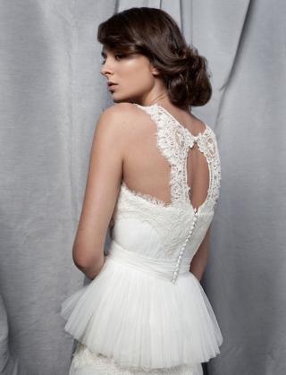 6 Vestidos de novia Santos Costura