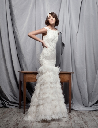 8 Vestidos de novia Santos Costura