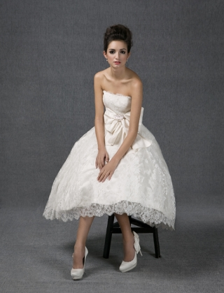 9 Vestidos de novia Santos Costura