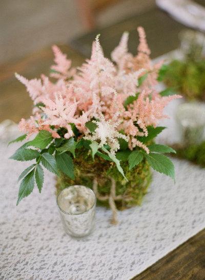 centro mesa boda original
