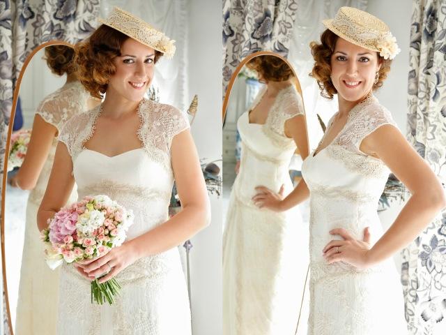 12 Canotier para novias o invitados