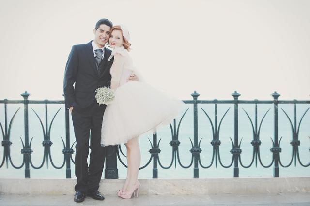 21  Boda en Tarragona Blanco y Caramelo