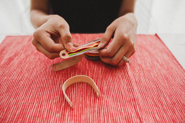 5 DIY Tutorial Boda personaliza servilleteros