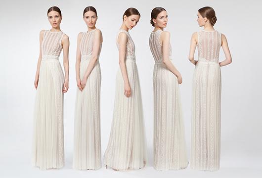 la nueva colección de vestidos de novia de santos costura –