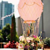 Decora tu boda con globos aerostáticos