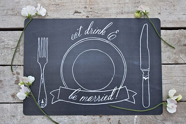 imprimible mantel individual boda estilo pizarra (1)