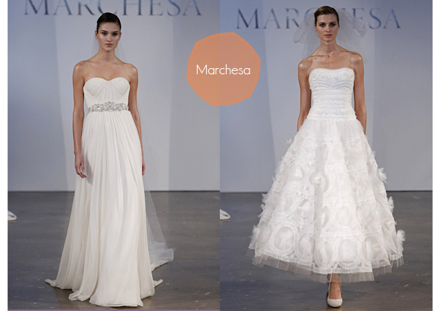 marchesa wedding gown vestidos de novia 2014