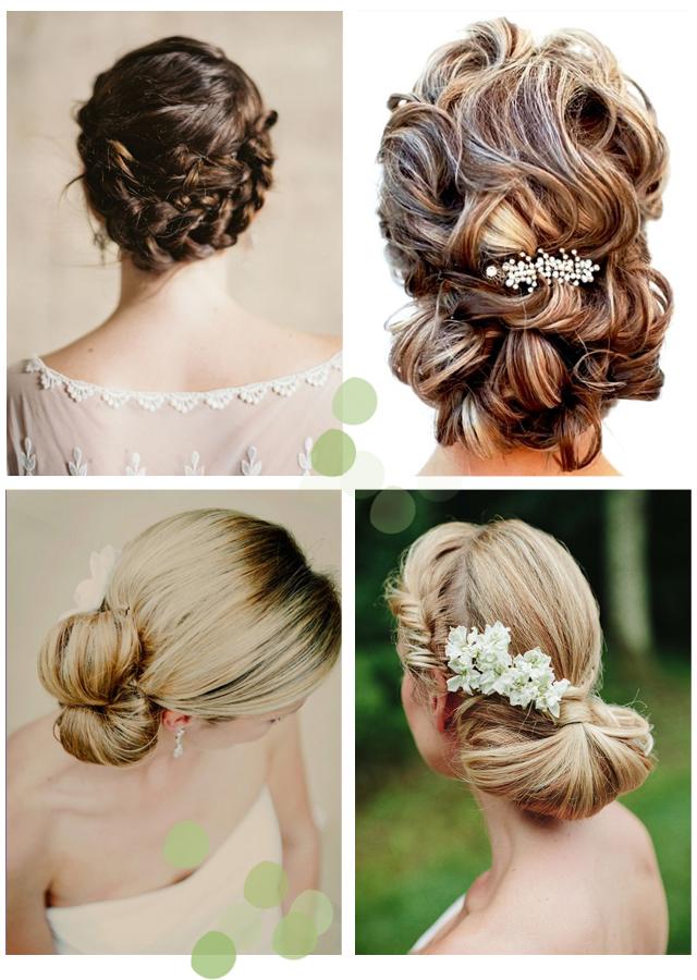 peinados para novias e invitadas tendencias 2014