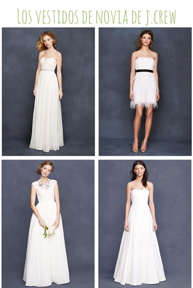 vestidos de novia asequibles jcrew