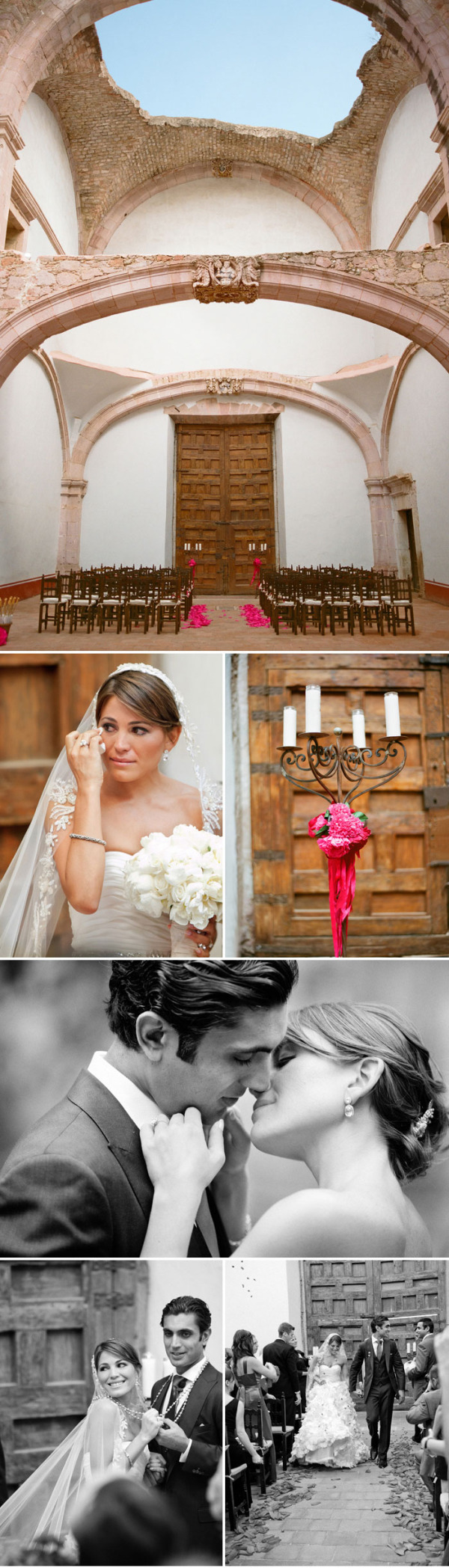 Colorida boda mexicana rosa (4)