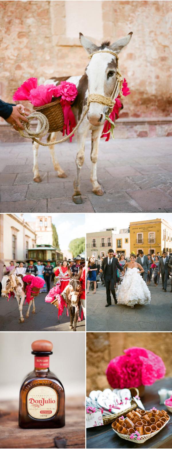 Colorida boda mexicana rosa (6)