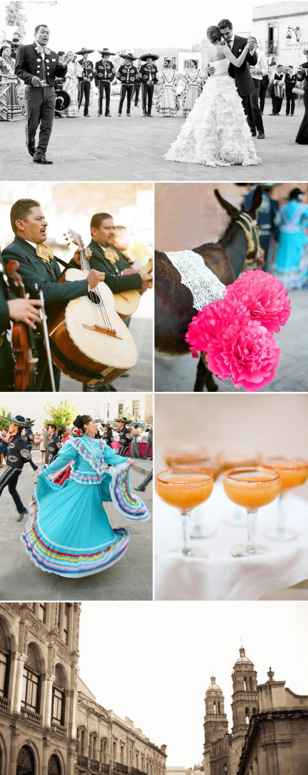 Colorida boda mexicana rosa (7)