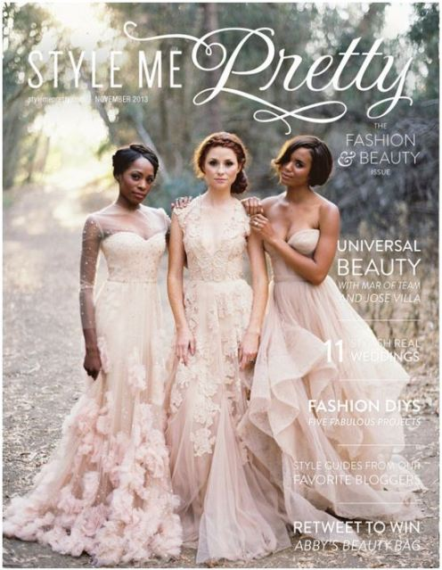revista stylemepretty fashion  beauty