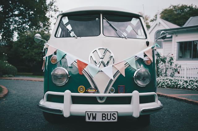 14 furgoneta coche de boda