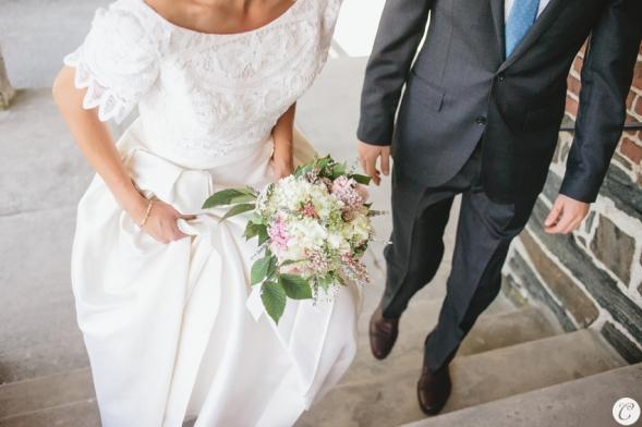 novia vestido años 50 con pamela (4)