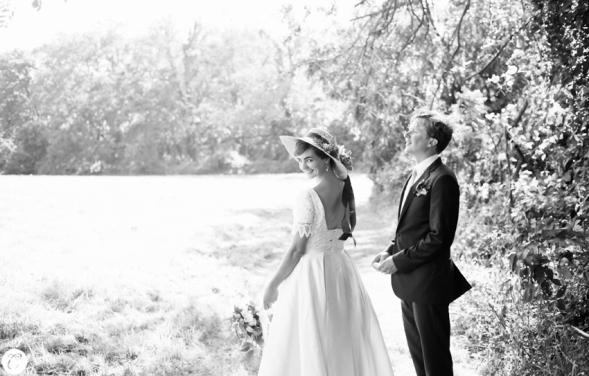 novia vestido años 50 con pamela (9)
