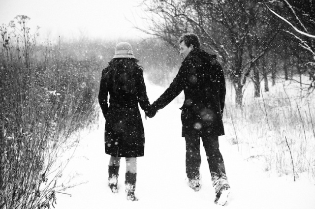 Sesión preboda en la nieve boda (1)