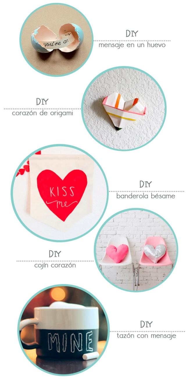 DIY san valentin
