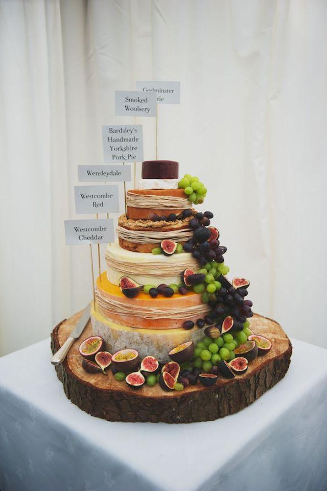 alternativa pastel boda diferente torre de quesos (4)