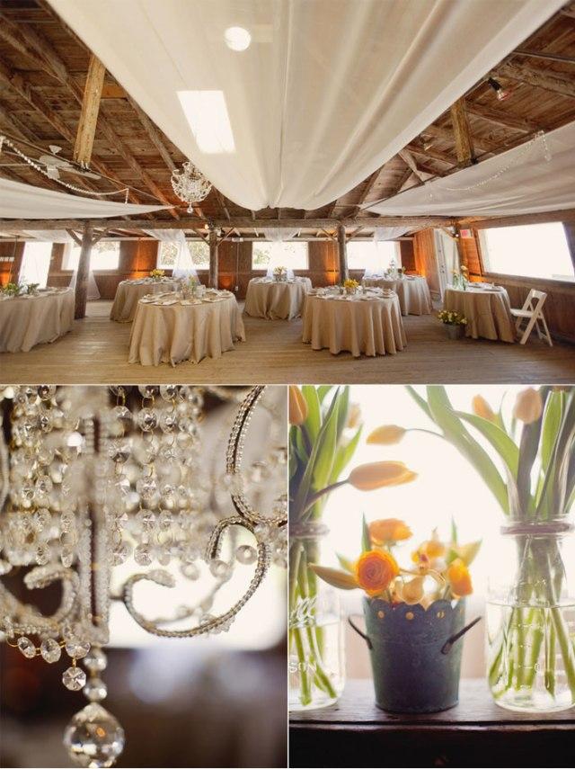 decoración boda amarillo colores estilo rústico (6)