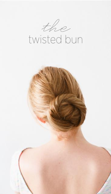 tutorial peinado boda moño bajo anudado