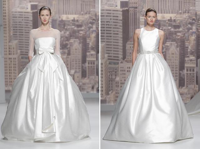 desfile rosa clara coleccion 2015 vestidos de novia  (5)