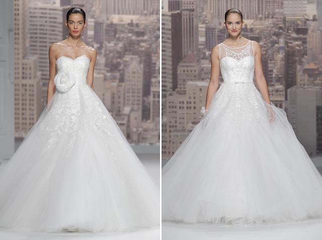 desfile rosa clara coleccion 2015 vestidos de novia  (9)