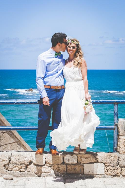 boda costa mar playa novia corona novio pajarita (14)