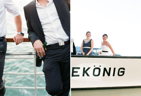 fotos boda analogicas boda azul y blanco novia vestido corto (23)