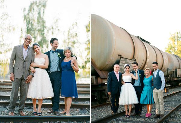 fotos boda analogicas boda azul y blanco novia vestido corto (25)