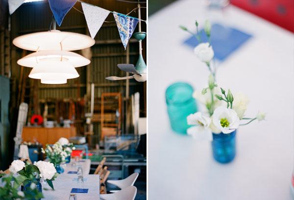fotos boda analogicas boda azul y blanco novia vestido corto (30)