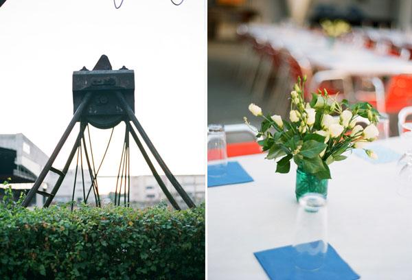 fotos boda analogicas boda azul y blanco novia vestido corto (32)