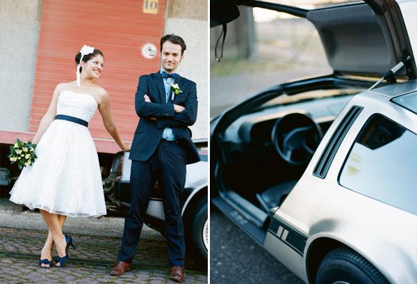 fotos boda analogicas boda azul y blanco novia vestido corto (6)