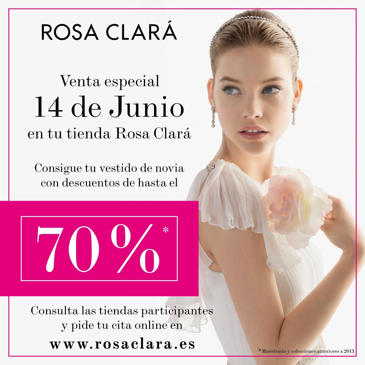 Venta especial Rosa Clará hasta 70% dto –