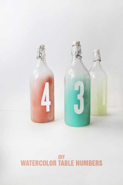 tutorial boda numeros mesa botellas diy (1)